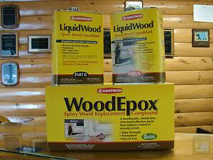 Abatron Liquid Wood Amp Wood Epox Wood Restoration Gal Kit