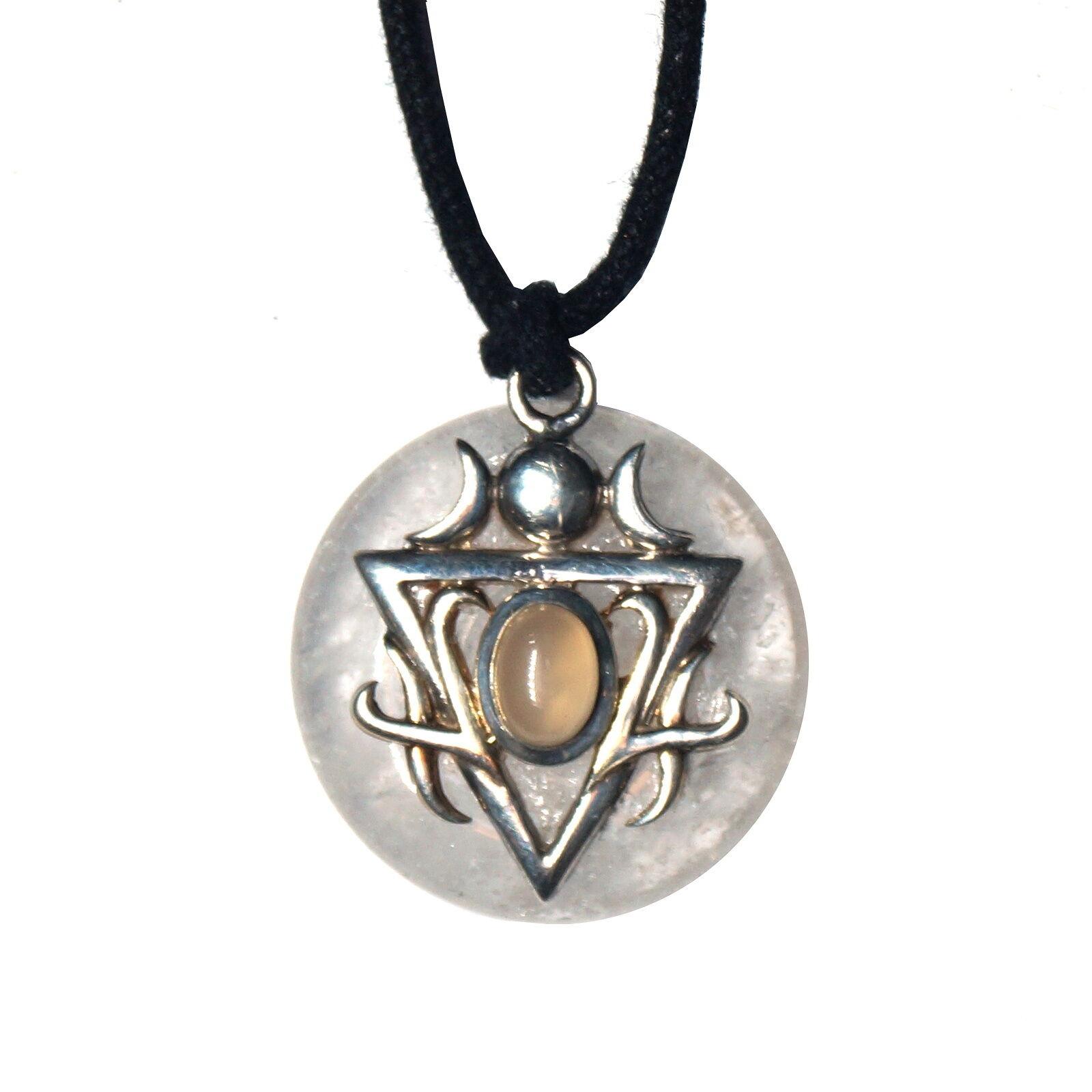Lange Halskette Halskette Elbischen Nena aus 925 silver
