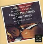Purcell, Ravenscroft, Dowland, Campion: English Part Songs & Lute Songs (CD, Jul-2008, Teldec (USA))