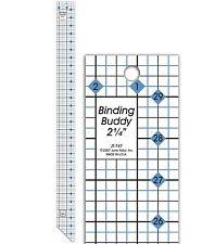 "June Tailor Binding Buddy Ruler 2-1/4 x 30"" JT747"