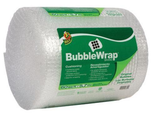"""12/"""" x 60/"""" Duck 1061835 All Purpose Bubble Wrap"""