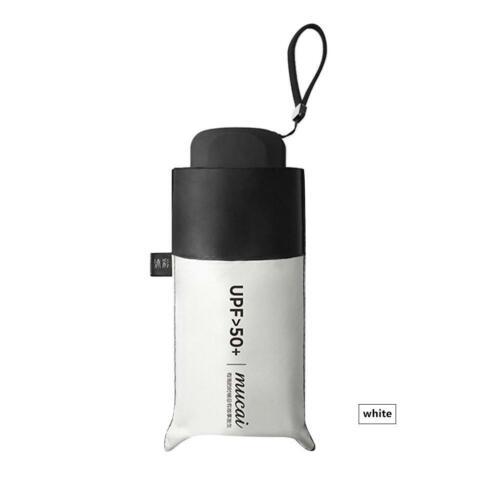 Mini 5-pliant léger parapluie compact anti UV pluie soleil Parasol Protect
