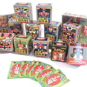 figurines GASHAPON Bandai Popy Sentai et chogokin - MIB