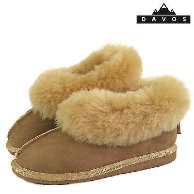 Women//Ladies 100 /%Genuine Sheepskin Slippers