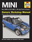 MINI Petrol & Diesel Service and Repair Manual: 2006-2013 by Martynn Randall (Hardback, 2013)