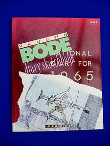 Bode Diary Sketchbook 1. Paperback  1990.  1st edition.  New.
