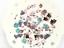 Korea-Diary-Label-Stickers-Cartoon-Cute-Scrapbooking-DIY-Stickers-Tags-Decor 縮圖 23