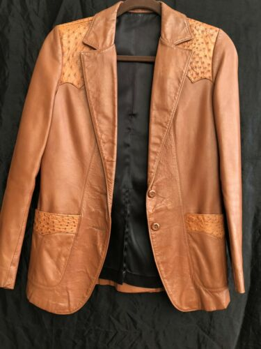Scully Jacket Ostrich Womens