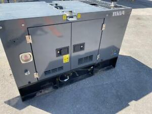 2019 Perkins Diesel Generator - 120/240 VOLT SINGLE PHASE -  10KW - LOW LOW LOW LOW Hours Canada Preview