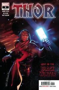 Thor-5-2020-1st-App-Black-Winter-VF-NM-1st-Print-Marvel-Comics