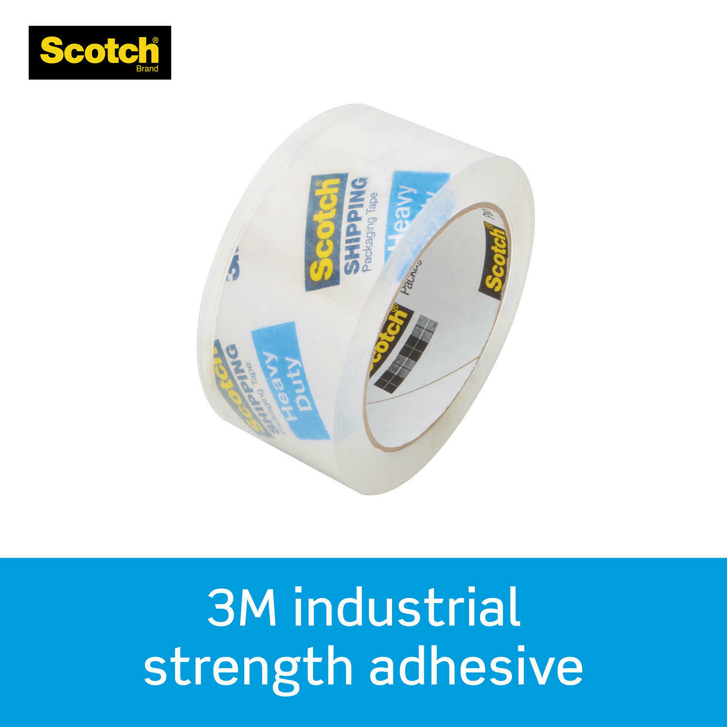 Scotch 38506 3 inch Heavy Duty Shipping Packaging Tape 6 Pack for sale online