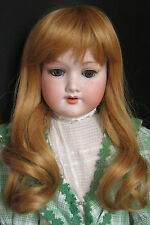 """perruque Jumeau®27/28cm-bld Vénitien-poupée ancienne moderne-doll Wig sz11"""""""