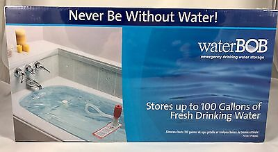 waterBOB Emergency Drinking Water Storage (100 Gallons) New In Box Sealed & Cool Things collection on eBay!