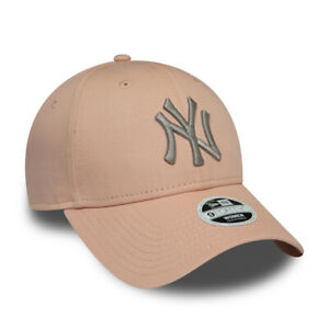 f5899ef8c Details about NEW ERA WOMENS NEW YORK YANKEES BASEBALL CAP.9FORTY PINK  LEAGUE ESSENTIAL HAT 9S