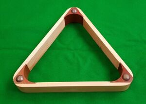 10-RED-WOODEN-SNOOKER-TABLE-BALL-TRIANGLE-RACK-FOR-2-1-16-034-SNOOKER-BALLS