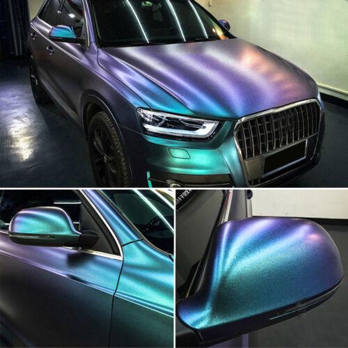 Chrome Car Body Films Vinyl Car Wrap Sticker Decal Sheet Air Release Film Glossy