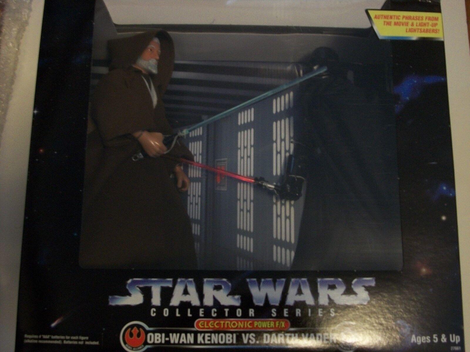 Star Wars  Obi-Wan vs Darth Vader 12 Inch figure  Kenner NRFB