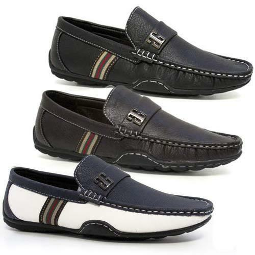 Man's/Woman's Mens Boat New Slip On Casual Boat Mens Deck Mocassin Designer Loafers Driving Shoes Size Reasonable price Environmentally friendly Clearance sale AA358 d34cde