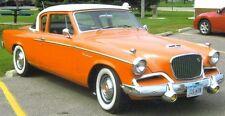 1957 1958 1959 1960 1961 Studebaker Hawk Mirrors Pair Silver Golden Sky Power