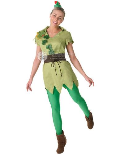 Adult Disney Miss Peter Pan Outfit Fancy Dress Costume Robin Hood Fairytale