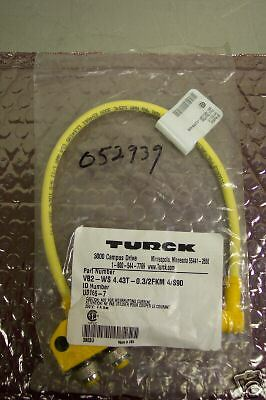 TURCK VB2WS4.43T0.32FKM4S90 SPLITTER CABLE NEW IN PACKAGE