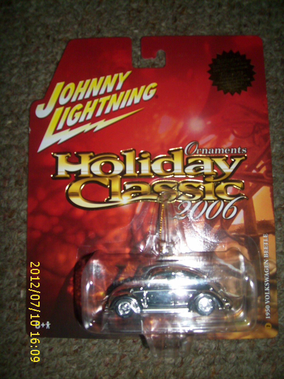 JOHNNY bianca  LIGHTNING HOLIDAY CLASSIC 2006 ORNAUomoTS 1950 VOLKSWAGEN BEETLE  7