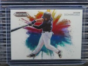 2020 Prizm Draft Picks Jasson Dominguez Color Blast SP Insert #8 Yankees M45