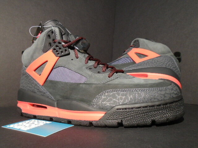 2010 NIKE AIR JORDAN WINTERIZED SPIZIKE SHADOW BLACK RED CEMENT 375356-003 DS 10