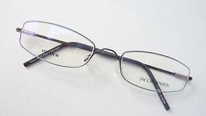 Brille-Titan-Unisex-Halbbrille-schmal-ohne-Nickel-Federbuegel-Gestell-size-M