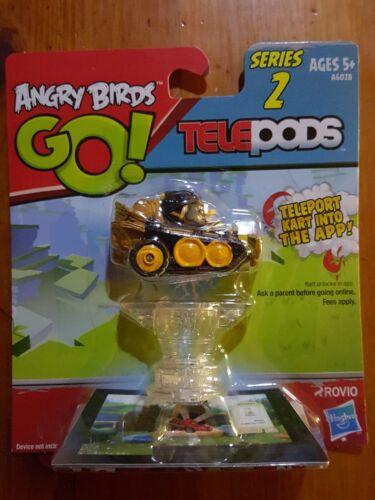 Telepods Kart Series 2 BLACK BIRD Rovio Hasbro NIP Angry Birds Go