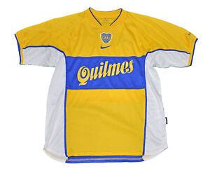 5af42090bd430 A imagem está carregando Boca-Junior-Jersey-Camisa-Nike-M-2001-Amarelo-