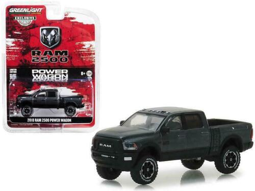 Granite Crystal *** Greenlight Hobby 1:64 NEU 2018 Dodge RAM 2500 Power Wagon