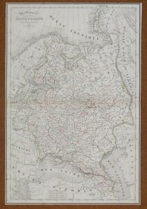 Map-Carte-RUSSIE-d-039-Europe-Atlas-Delamarche-1850