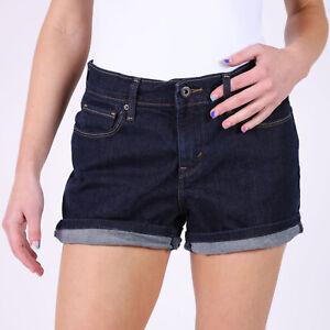 Levi-039-s-Damen-blau-Denim-Shorts-DE-34-US-W27