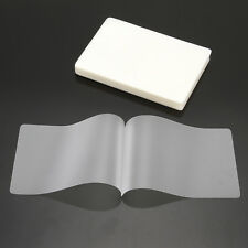 1 Pack100 Sheet 80x110mm A7 Laminating Pouch Film Glossy Protect Photo Paper