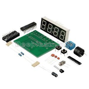 45a6aa8e85f7 La foto se está cargando AT89C2051-4-Bits-Digital-Reloj-Electronico -de-Produccion-