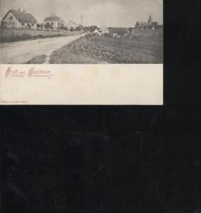 (41415) Carte Postale Salutations De Kaisheim 1908 Après Augsbourg-afficher Le Titre D'origine