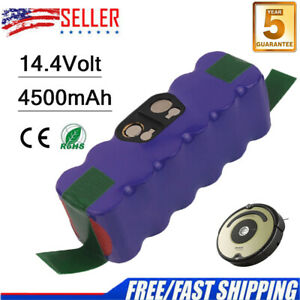 NI-MH-14-4V-4500mAh-Battery-For-iRobot-Roomba-500-510-540-550-560-650-780-R3-A