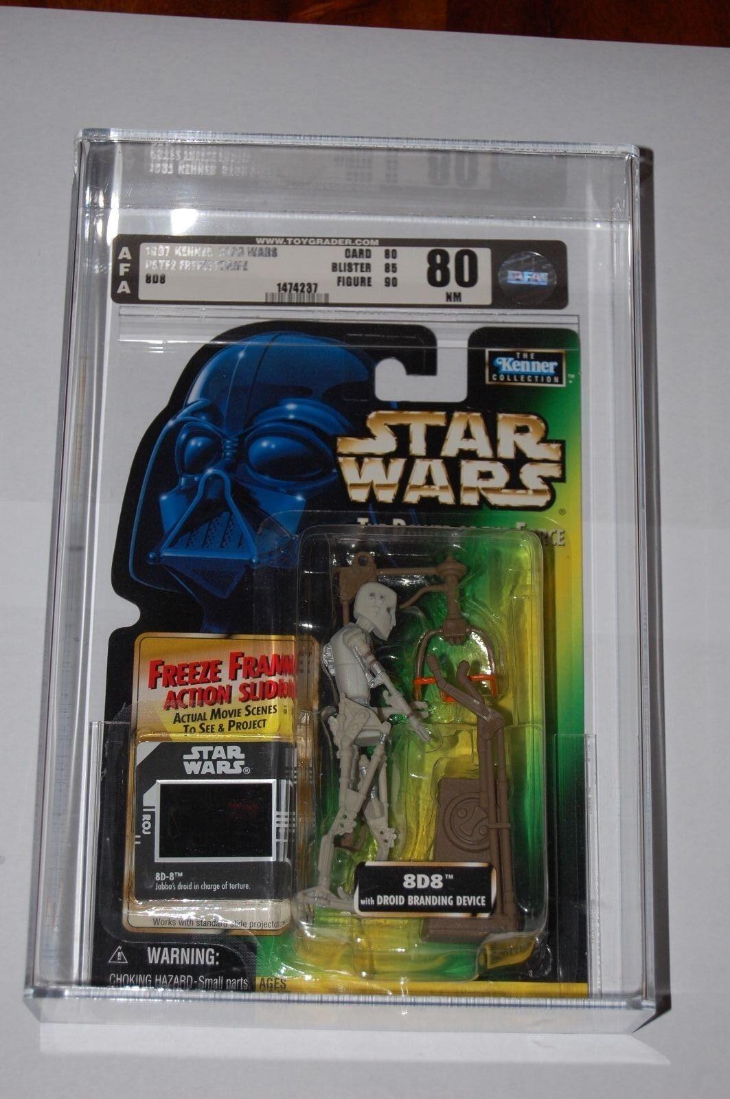 8D8-Star Wars Freeze Frame-Graded AFA 80-Figure Grade 90-Jabba Droid