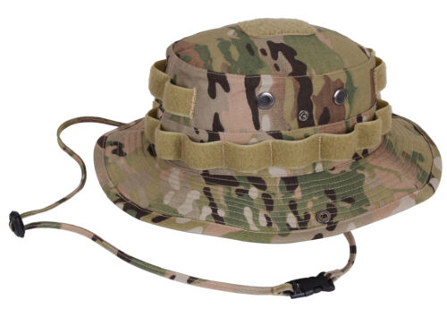 OCP Tactical Military Booniehat Multicam Camo Camouflage Sun Hat Rothco 5689