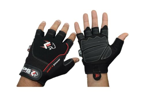 BODYBUILDING GYM EXCERCIS GLOVES TRAINING FITNESS GLOVE WEIGHT LIFTING GLOVES