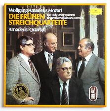 AMADEUS QUARTET Mozart early string quartets germany DGG 2740165 STEREO 4LP Box