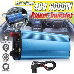 Image Is Loading 6000 5000 4000 3000w Solar Inverter 12