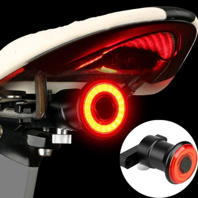 XLite100 Waterproof Bicycle Brake Light Sense LED USB Tail Light Rear Lamp