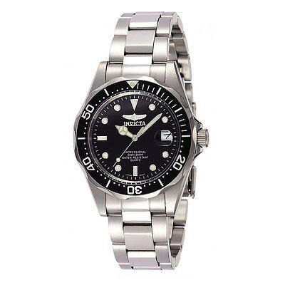 Invicta 8932 Men's Pro Diver Quartz Black Dial Watch