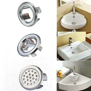 e pak 3 Overflow Covers Chrome for Basin Sink Trim