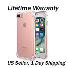 For Apple iPhone 7 Plus Case Silicone Clear Cover Bumper Rubber Protective TPU5