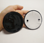 New-Gloss-Black-Front-Hood-90mm-Tailgate-80mm-Logo-Emblem-Badge-For-Skoda-Option miniature 4