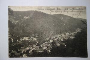 Ansichtskarte-Thueringen-Stutzhaus-Schwarzwald-Luisenthal-Kr-Gotha-1919