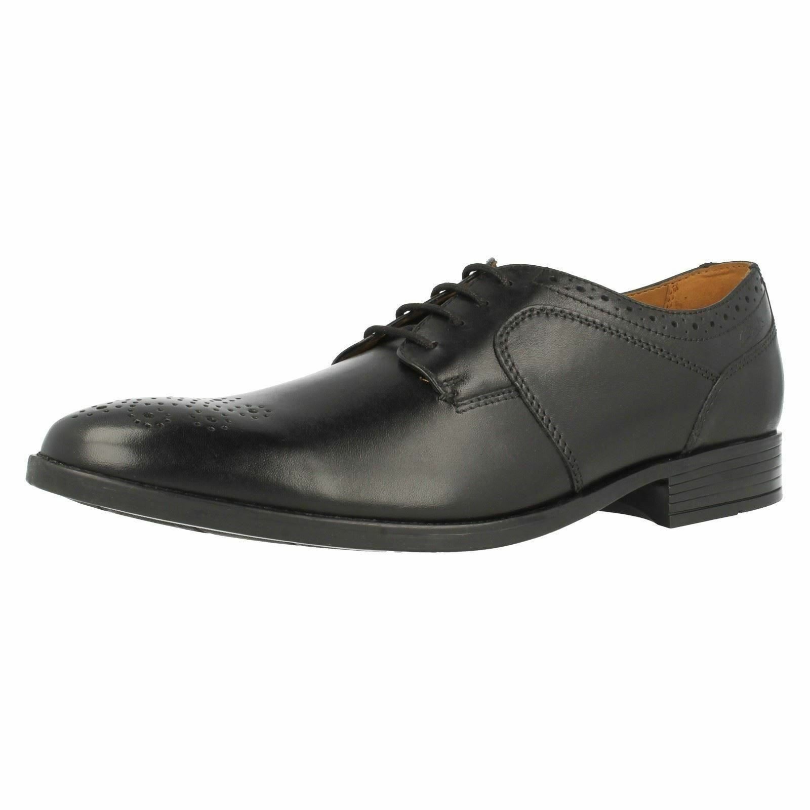 Billig gute Qualität Clarks Kalden Edge Schuhe